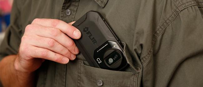 FLIR C2 In Pocket