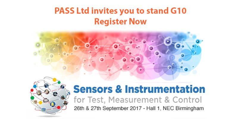 Register for the Sensors and Instrumentation Show