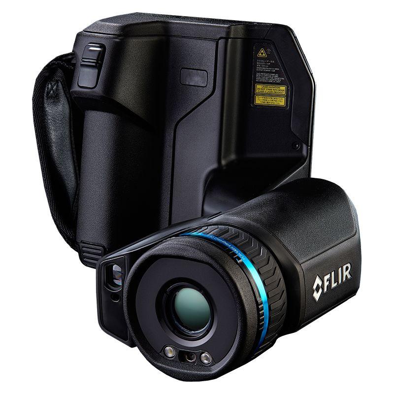 A FLIR T530 Thermal Camera facing forwards.