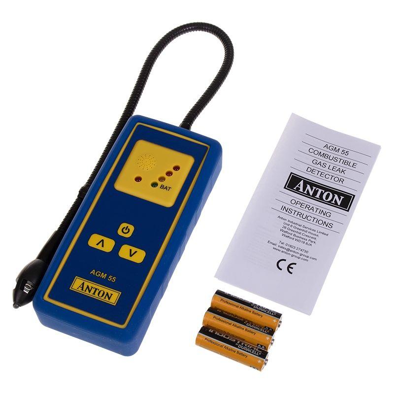 Anton AGM55 Combustible Gas Leak Detector