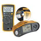 Fluke 1663 Multifunction Installation Tester with Free Fluke 114 Digital Multimeter and Free DMS COMPL/PROF Software