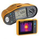 Fluke 1664FC Multifunction Tester & Fluke PTI120 Pocket Thermal Camera