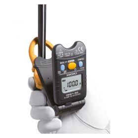 Hioki 3291-50 Flip Type Current Clamp Meter in use