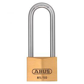 ABUS 85/50HB Long Shackle Brass Padlocks