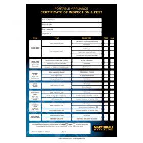 Martindale Pat Certificate PAD