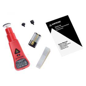 Amprobe TACH10 Contact/Non-Contact Tachometer - Full Kit