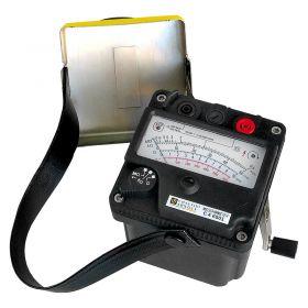 Chauvin Arnoux CA6501 Megohmmeter Magneto 500V DC
