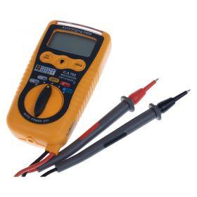 Chauvin Arnoux CA703 Pocket Digial Multimeter - Probes