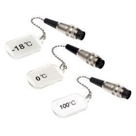 Digitron 3 x Calibration Caps for FM35 - 18°C, 0°C, 100°C
