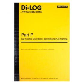 DiLog DLC106 Part P Domestic Installation Certificate