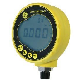 GE Druck 104IS Intrinsically Safe Digital Pressure Test Gauge