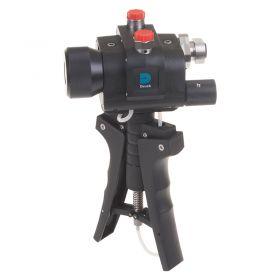 GE Druck PV411A Multifunction Pressure/Vacuum Hand Pump - Angled