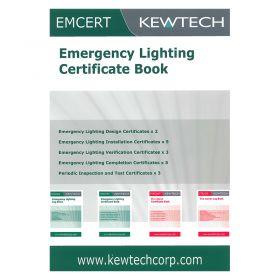 Kewtech EM CERT Emergency Lighting Certificate