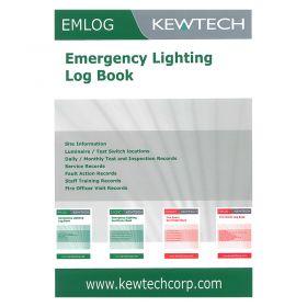 Kewtech EM1 LOG Emergency Lighting Log Book