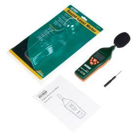 Extech 407732 Low High Range Sound Level Meter  Kit