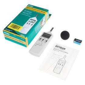 Extech 407736 Dual Range Sound Lever Meter kit