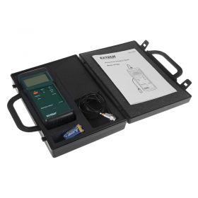 extech 407860 heavy duty vibration meter - In case