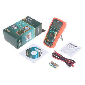 Extech EX350 11 Function True RMS Digital Multimeter - Kit