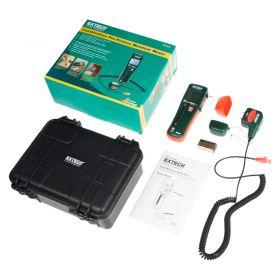 Extech MO265 Combination Pin Pinless Moisture Meter Kit