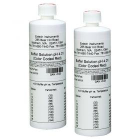 extech ph4 p 4ph buffer solution 2 bottles