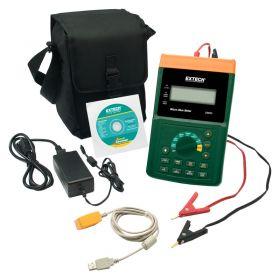 Extech UM200 High Resolution Micro Ohm Meter Kit