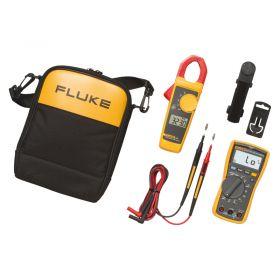 Fluke 117/323 Electricians Multimeter and Clamp Meter Combo Kit