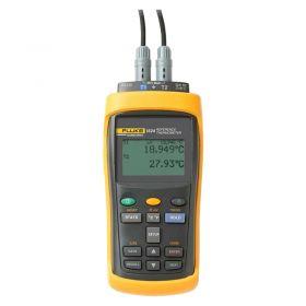 Fluke 1524-256 2-Channel Handheld Thermometer Kit 2