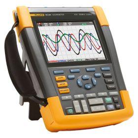 Fluke 190 204 UN ScopeMeter 4 Channel 200 MHZ Color