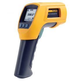 Fluke 568 Multipurpose Thermometer - Back Screen