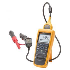 Fluke BT521 Advanced Battery Analyzer with accessories