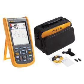 Fluke 123B 2-Channel Industrial Oscilloscope & SCC120B Soft Carry Case