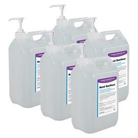 Hand Sanitiser (BS EN 1276) – 25L with Pumps