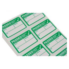 500 x Kewtech Appliance Pass Labels