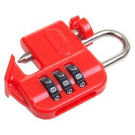 Kewtech Lock out up close