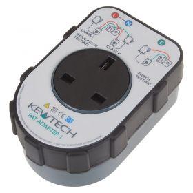 Kewtech PAT ADAPTOR 1 Box - Front