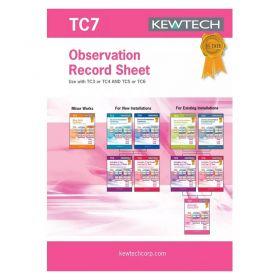 Kewtech Observation Test Book