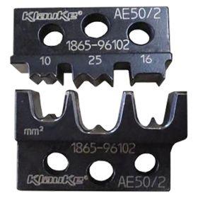Klauke AE502 Die Set for EK50ML for Bootlace Ferrules, 10 - 25mm²