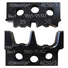 Klauke AE503 Die Set for EK50ML for Bootlace Ferrules, 35 - 50mm²