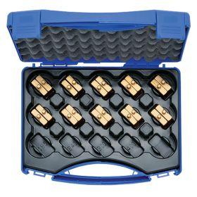 Klauke HL4set Set Of Hexagonal Crimping Dies for Cu Connectors, 6 - 150mm² (for Klauke 4 Series Tools)