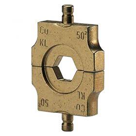 Klauke HL410 Individual Hexagonal Die Set for L Series Cu Connectors, 10mm²