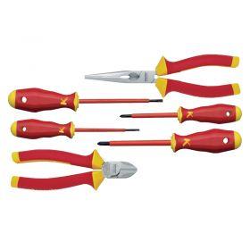 Klauke KL306IS VDE Plier/Screwdriver Set, 6 Pieces