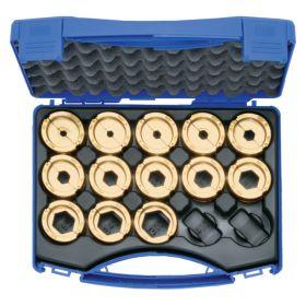 Klauke L22SET Set of L Series Hex Crimping Dies (for Klauke 22 Series Tools)