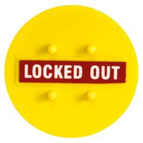 Lockout Lock Circular Circuit Blocker - LT-CB-38: 38mm diameter