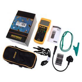 Martindale HPAT400 Pass/Fail PAT Tester - Kit