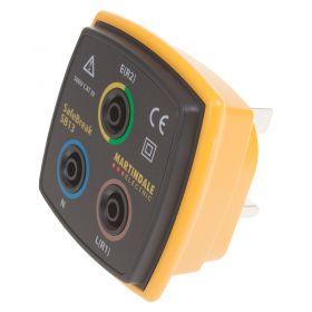 Martindale SB13 Socket Test Adaptor - Angled