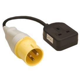 Megger 110V Mains Lead Adaptor for PAT Testing