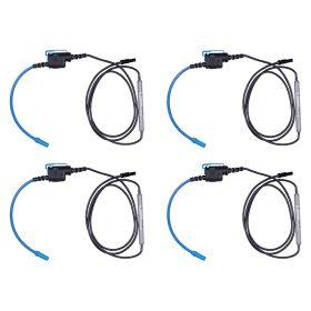 Metrel S2094 4x A1501 Mini Flexible Current Clamp Set