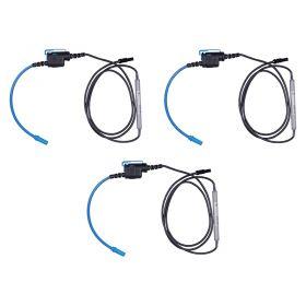 Metrel S2099 3x A1503 Mini Flexible Current Clamp Set