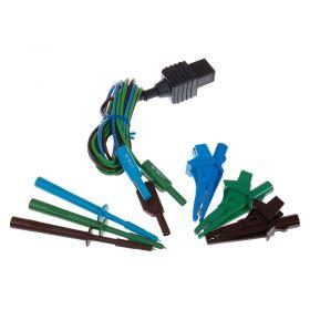 Metrel TEK119 3-Wire Test Lead Set - Probes and Croc Clips