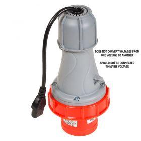 PAT Testing Adaptor - 4 Pin, 63A, 415V Plug